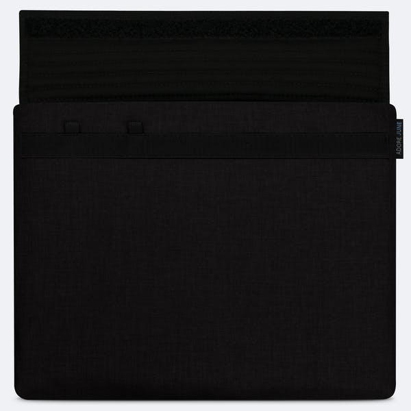 Image 3 of Adore June Classic Sleeve for Apple iPad Pro 12 9 with Apple Pen Holder Color Black