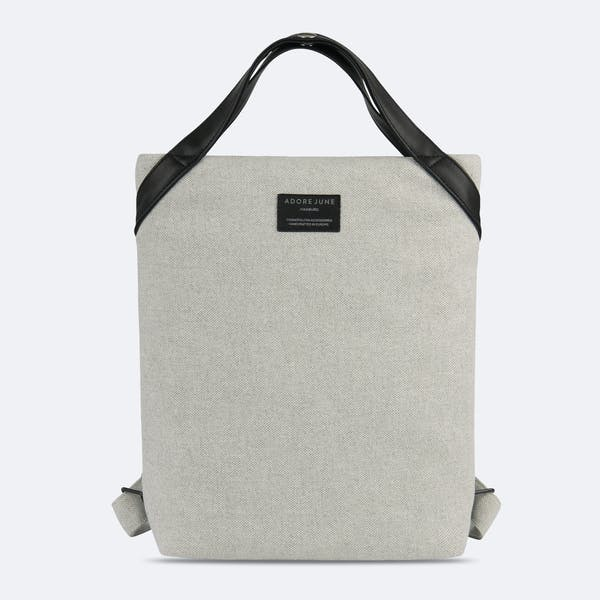 Image 1 of Adore June Ladies Trend Backpack Liv Color Light Grey