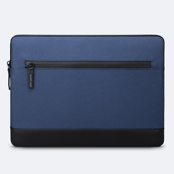 Image 4 of Adore June Bent Premium Sleeve for Apple iPad Pro 12.9 Color Blue