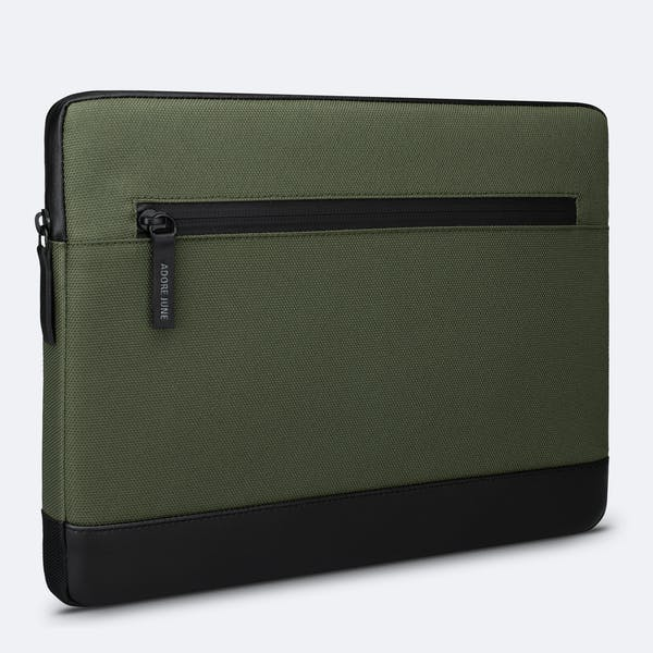 Image 1 of Adore June 13.3 Inch MacBook Case Bent for Apple MacBook Air 13 and MacBook Pro 13 Color Olive-Green