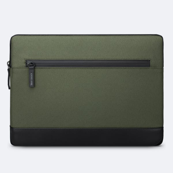 Image 4 of Adore June Bent Premium Sleeve for Apple iPad Pro 11 and iPad Air 10.9 2020 Color Olive-Green