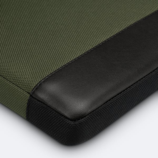 Image 8 of Adore June Bent Premium Sleeve for Apple iPad Pro 11 and iPad Air 10.9 2020 Color Olive-Green