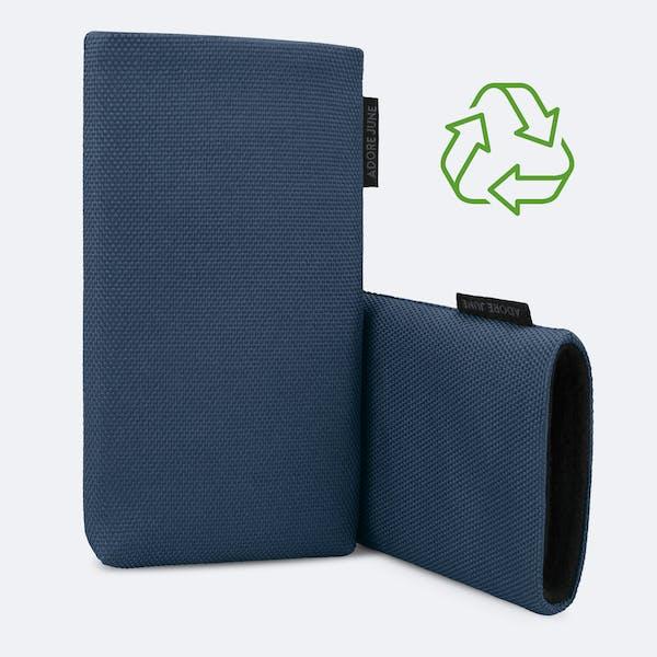 Bild 3 von Adore June Classic Recycled 6,2 Zoll Premium Handytasche für Samsung Galaxy S21 in Farbe Blau
