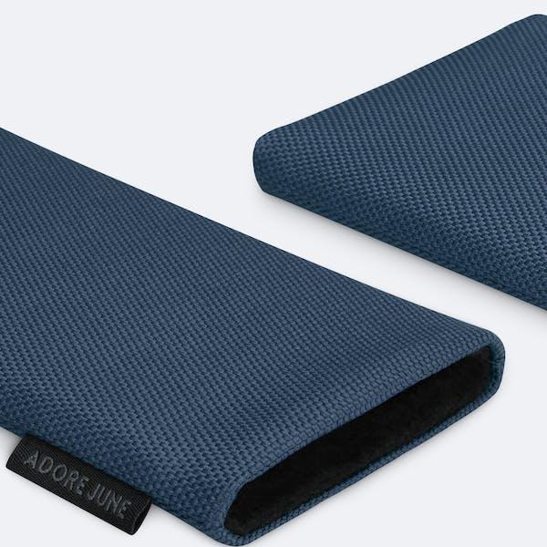 Bild 5 von Adore June Classic Recycled 6,2 Zoll Premium Handytasche für Samsung Galaxy S21 in Farbe Blau
