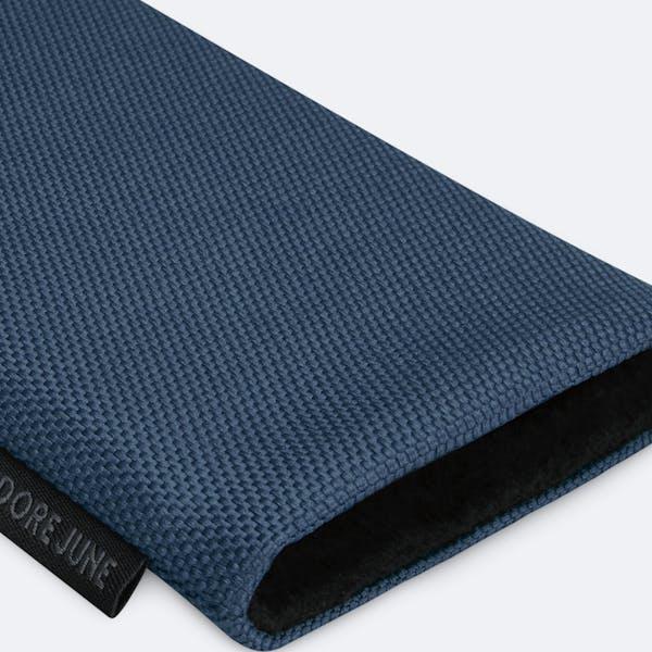 Bild 7 von Adore June Classic Recycled 6,2 Zoll Premium Handytasche für Samsung Galaxy S21 in Farbe Blau