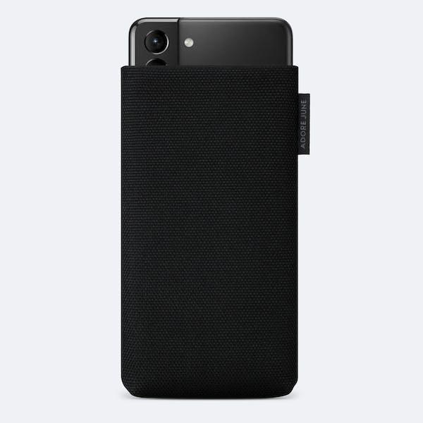 Bild 1 von Adore June Classic Recycled 6,7 Zoll Premium Handytasche für Samsung Galaxy S21 Plus in Farbe Schwarz