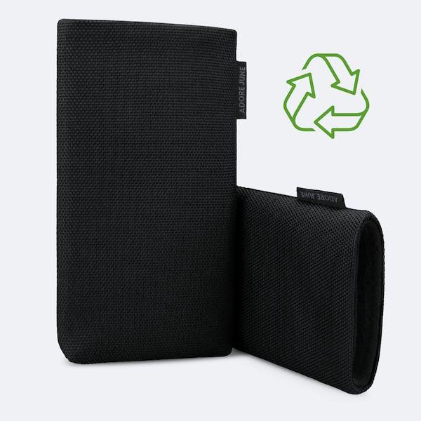 Bild 3 von Adore June Classic Recycled 6,7 Zoll Premium Handytasche für Samsung Galaxy S21 Plus in Farbe Schwarz