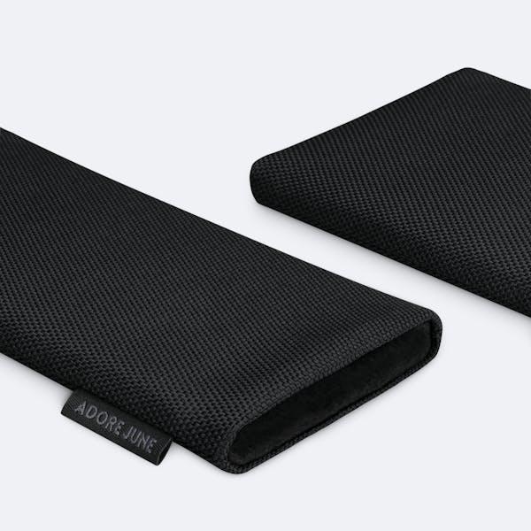 Bild 5 von Adore June Classic Recycled 6,7 Zoll Premium Handytasche für Samsung Galaxy S21 Plus in Farbe Schwarz