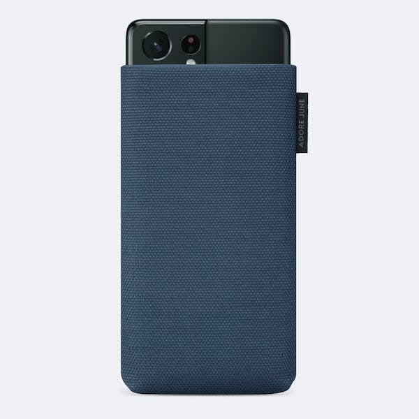 Image 1 of Adore June Classic Recycled 6.8 Inch Sleeve for Samsung Galaxy S21 Ultra Color Blue