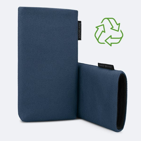 Image 3 of Adore June Classic Recycled 6.8 Inch Sleeve for Samsung Galaxy S21 Ultra Color Blue