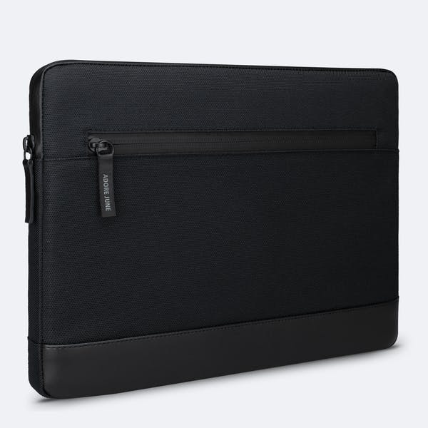Image 1 of Adore June 13.3 Inch Premium Sleeve for Dell XPS 13 Laptop Bent Color Black