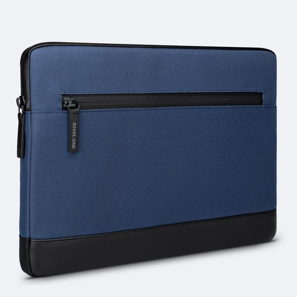 Image 1 of Adore June 13.3 Inch Premium Sleeve for Dell XPS 13 Laptop Bent Color Blue