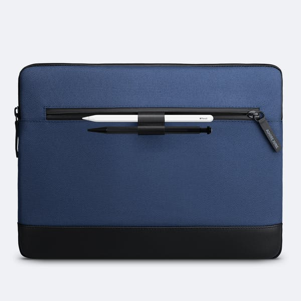 Image 2 of Adore June 13.3 Inch Premium Sleeve for Dell XPS 13 Laptop Bent Color Blue