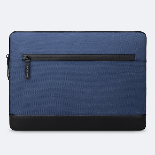 Image 4 of Adore June 13.3 Inch Premium Sleeve for Dell XPS 13 Laptop Bent Color Blue
