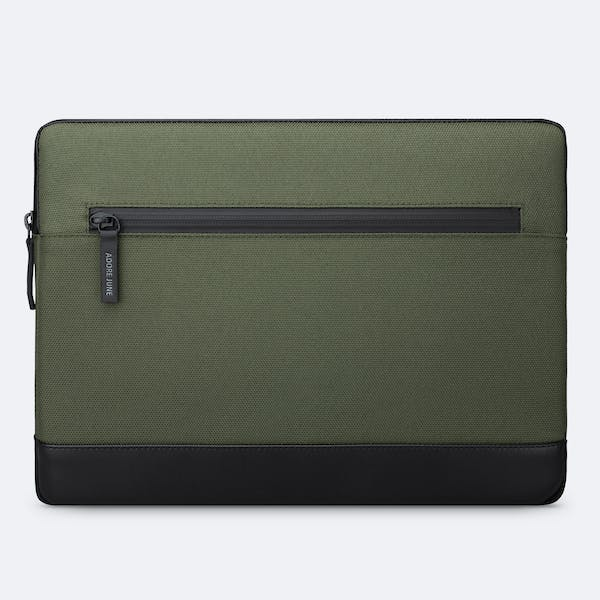 Image 4 of Adore June 13.3 Inch Premium Sleeve for Dell XPS 13 Laptop Bent Color Olive-Green