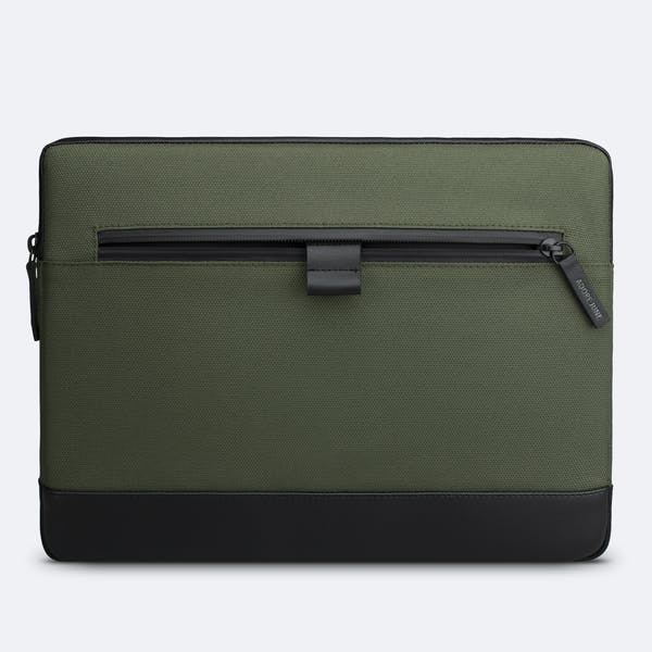 Image 7 of Adore June 13.3 Inch Premium Sleeve for Dell XPS 13 Laptop Bent Color Olive-Green