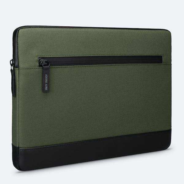 Bild 1 von Adore June Premium 13,3 Zoll Hülle für Samsung Galaxy Book Flex2 5G Bent in Farbe Oliv-Grün