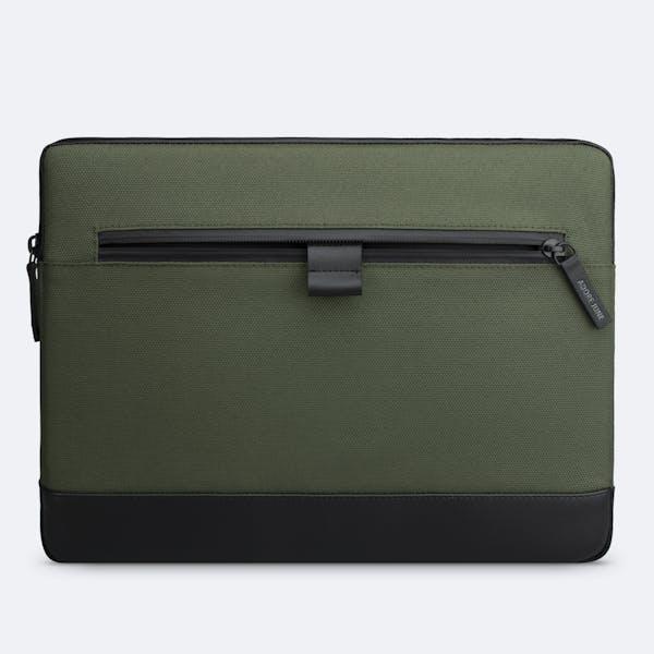 Bild 7 von Adore June Premium 13,3 Zoll Hülle für Samsung Galaxy Book Flex2 5G Bent in Farbe Oliv-Grün