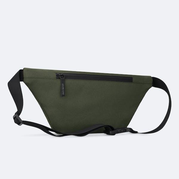 Bild 4 von Adore June Bent Hip-Bag in Farbe Oliv-Grün
