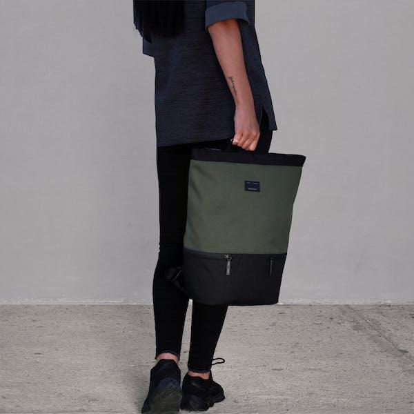 Image 2 of Adore June Sander Daypack Color Olive-Green