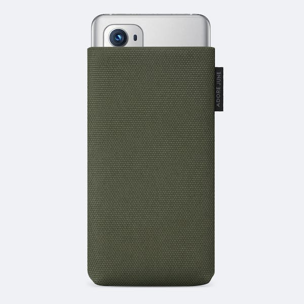 Image 1 of Adore June Classic Recycled Sleeve for OnePlus 9 Pro Color Olive-Green